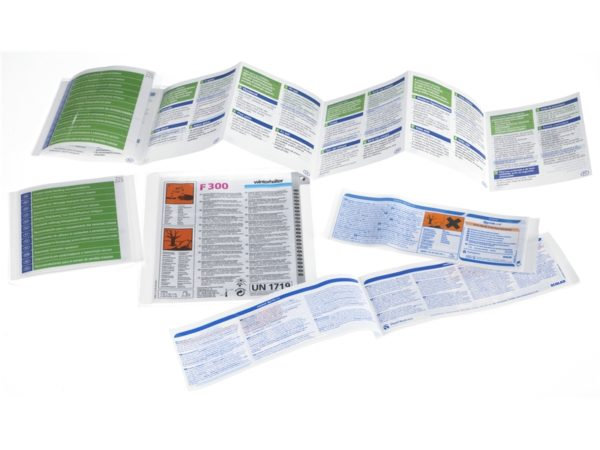 Chemical Booklet Labels
