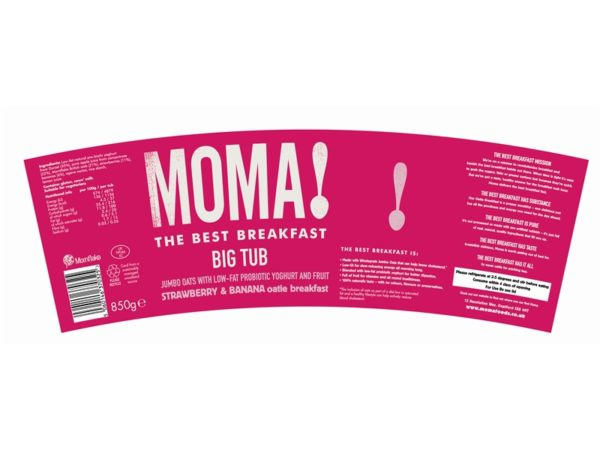 Tapered Food Labels