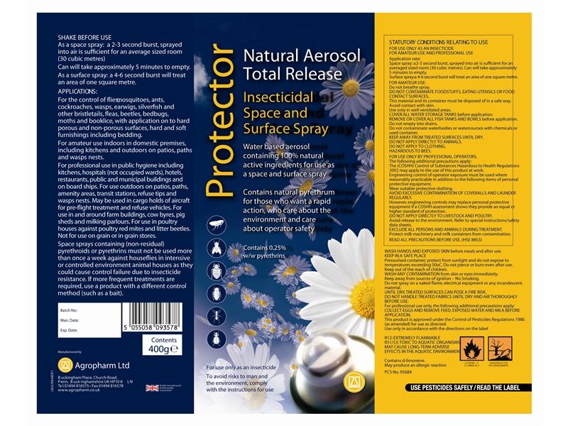 Aerosol Labels