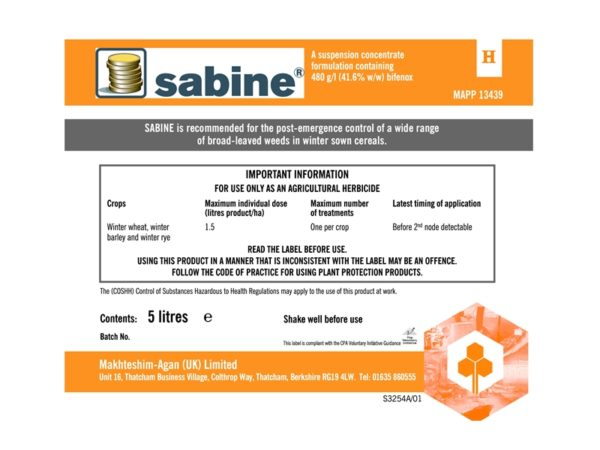 Agrochemical Labels