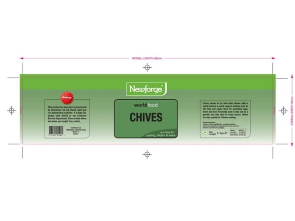 Herbs and Spices Labels