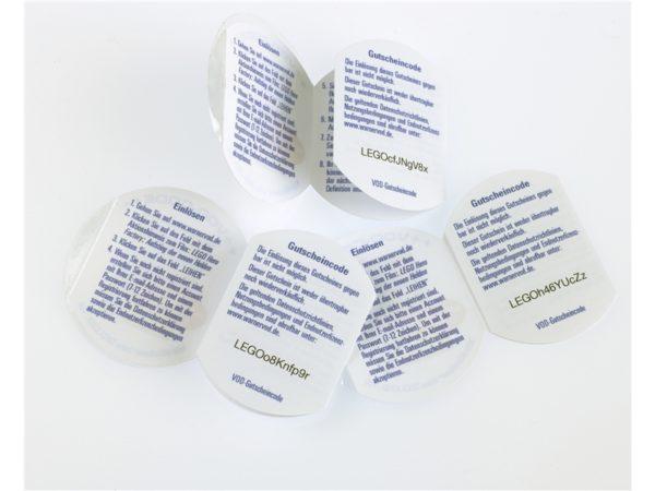Multi Sort Peel and Reveal Labels