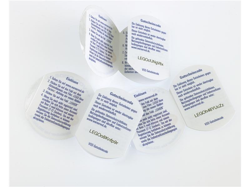 Digital Booklet Labels