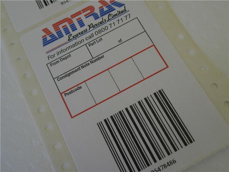 Courier Labels