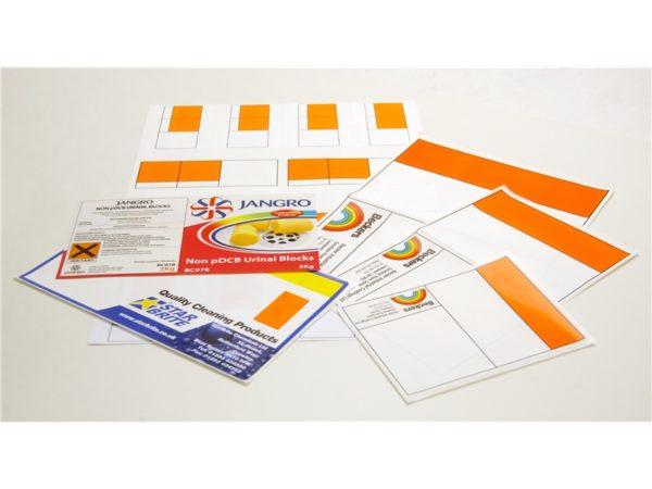 Bespoke Labels for Overprinting
