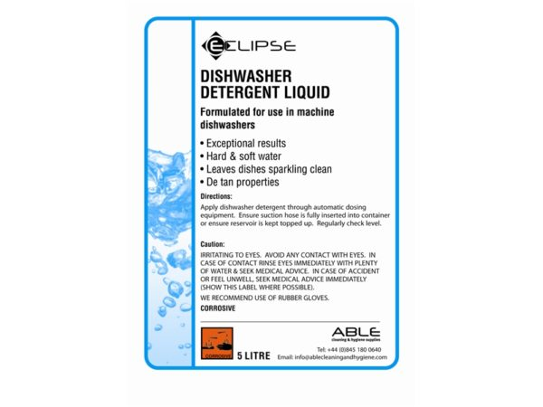 Detergents and Disinfectant Labels