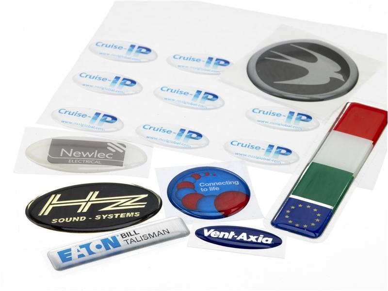Digital Domed Labels