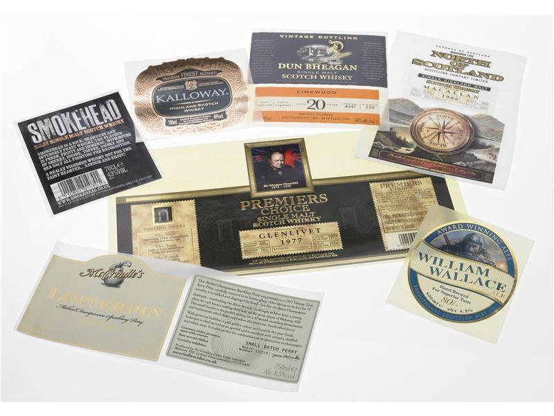 Digital Foiled Labels