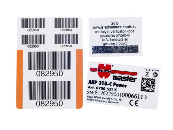 Kapton Labels