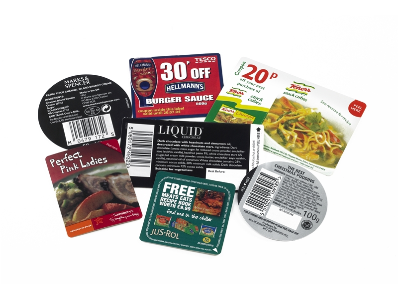 Peel and Reveal Food Promotions