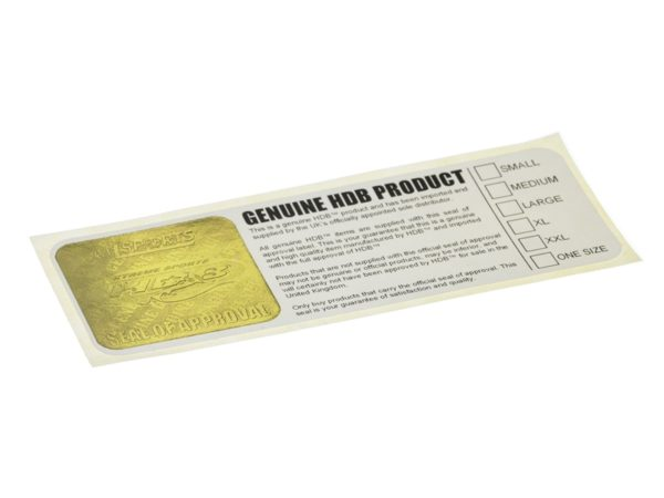 Digital Embossed Labels