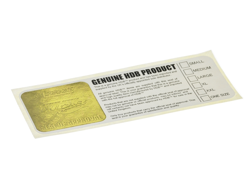 Digital Embossed Labels