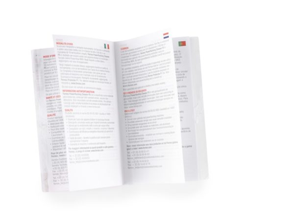 Multi Lingual Booklets