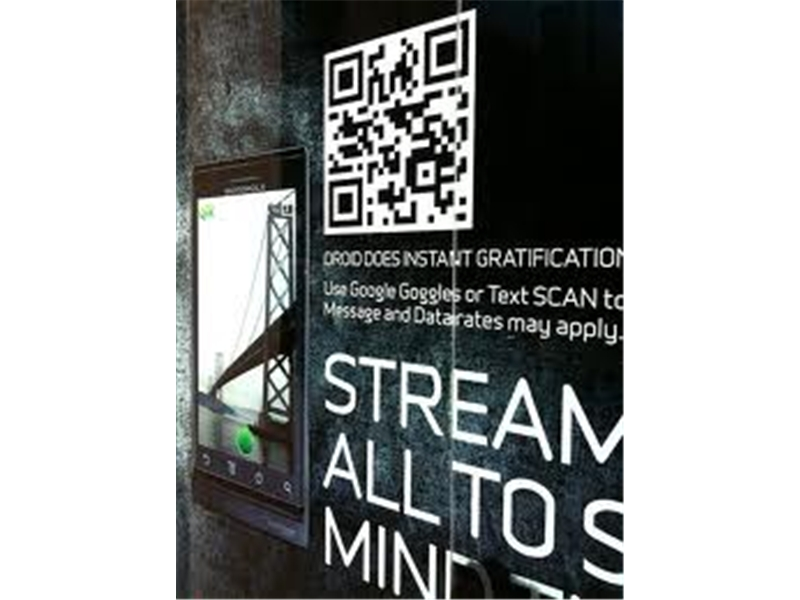 QR Codes Window Stickers