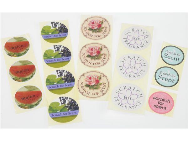 Digital Fragranced Labels