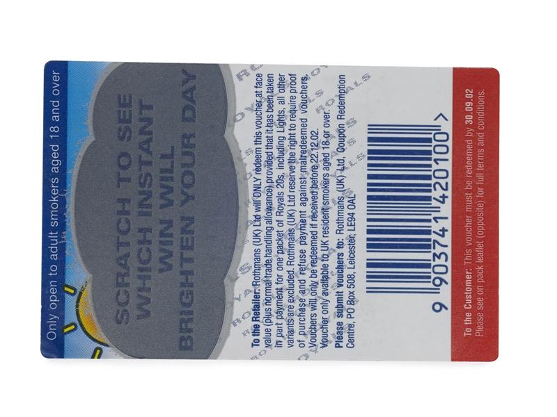 Digital Scratch Off Labels