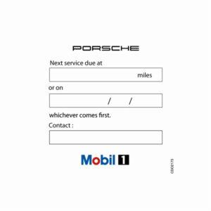Car Service Window Stickers