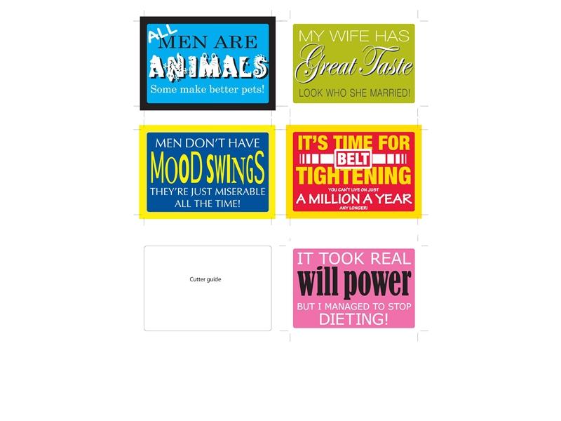 Digitally Printed Window Stickers