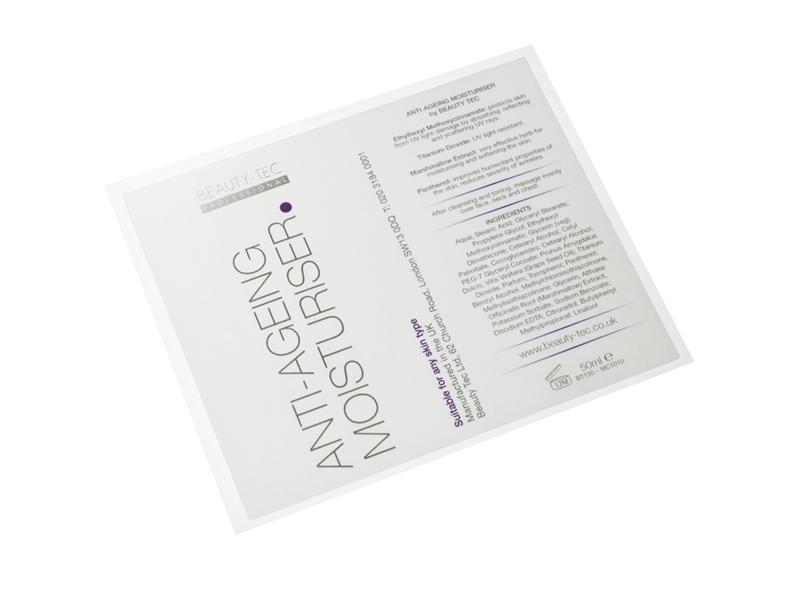 Digital Cosmetics Labels