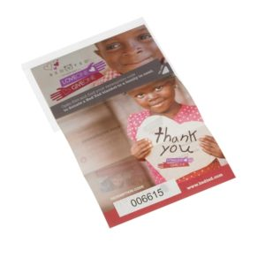 Promotional Peel and Reveal Labels