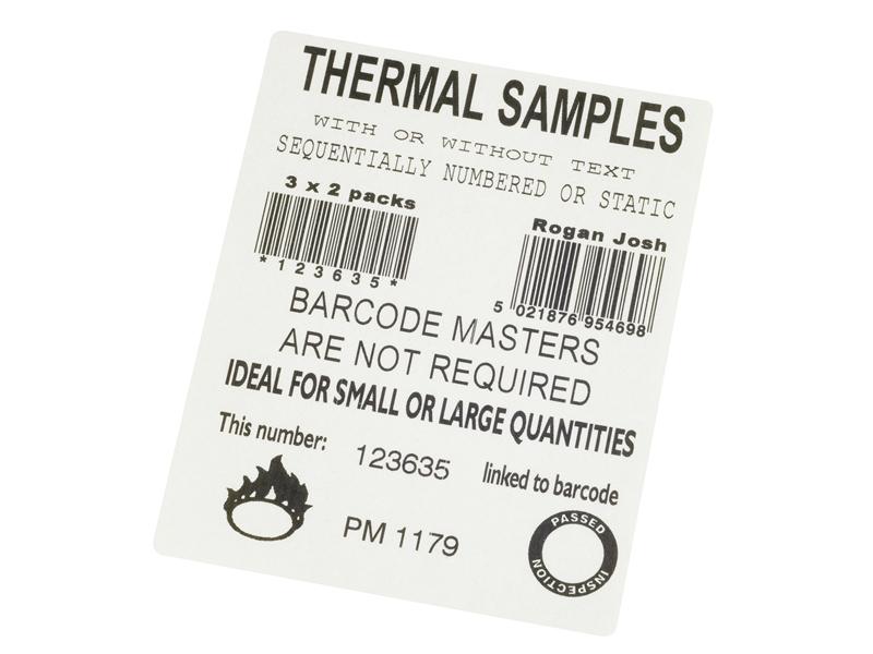 Digital Direct Thermal labels