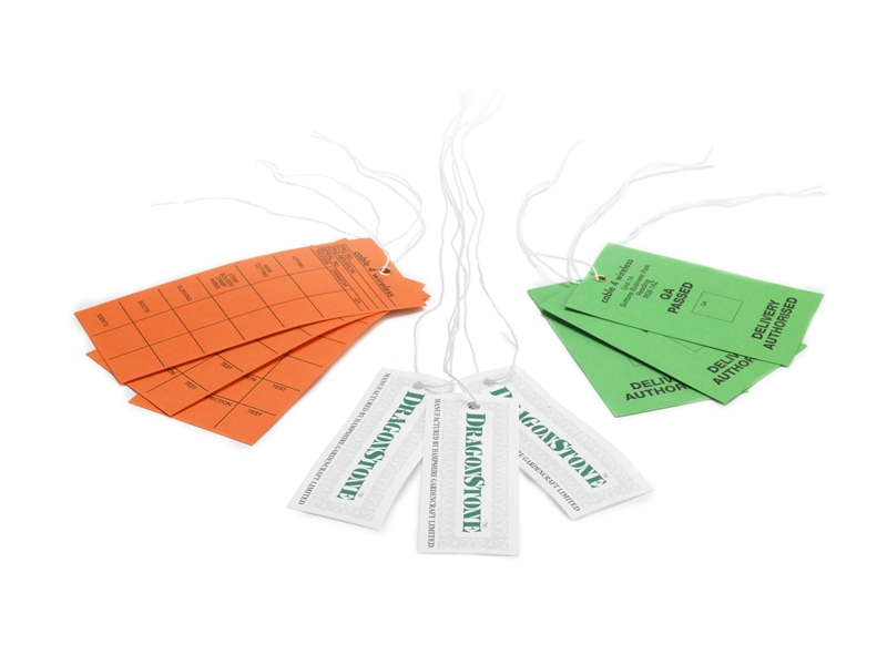 Waterproof Tags and Swing Tickets