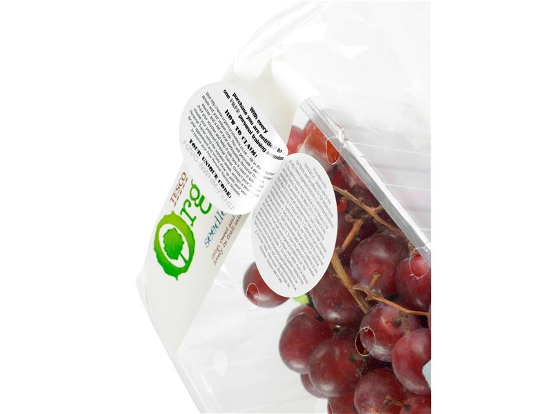 Peel and reveal - dry peel labels
