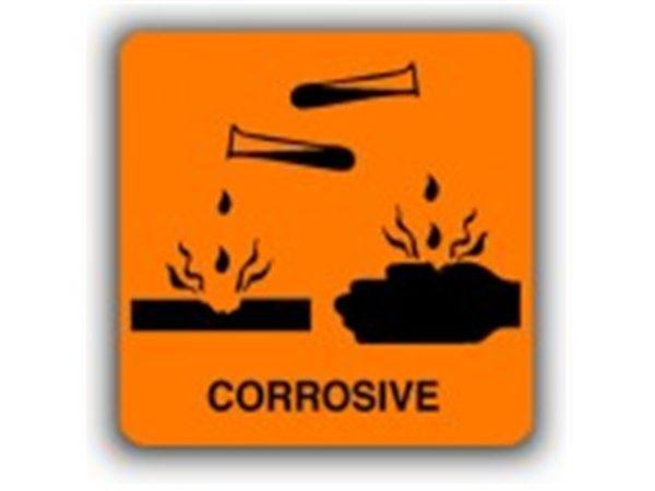 Corrosive Hazard