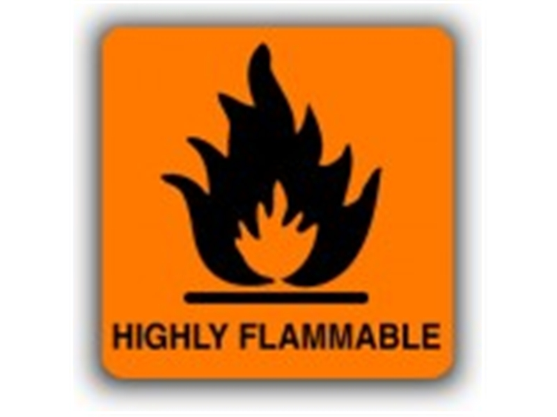 Highly Flammable Hazard
