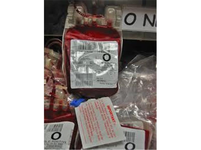 Blood Bag Labels