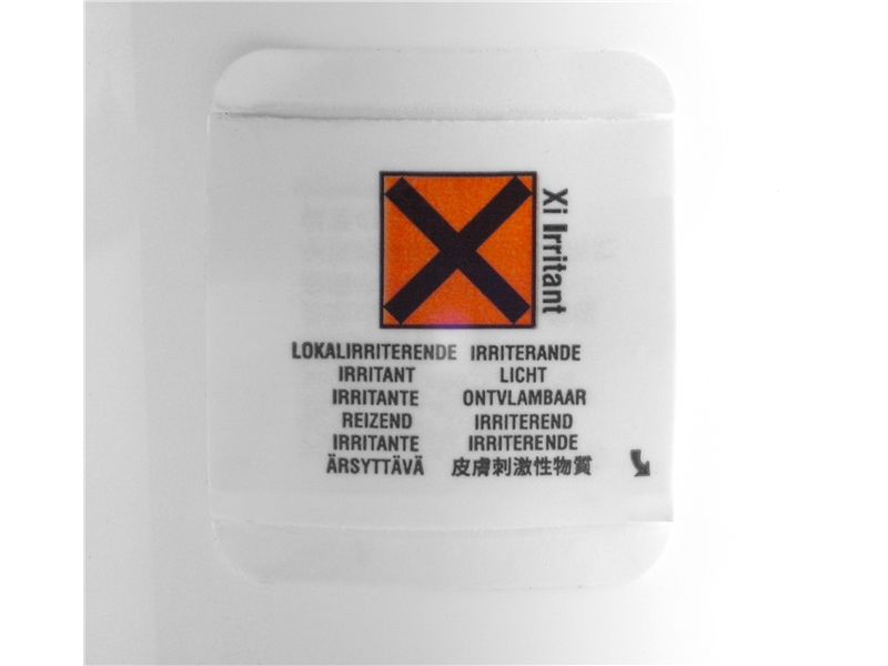 Peel and Reveal Chemical Labels