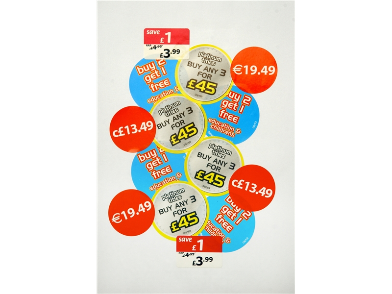 Price Point / POS Labels