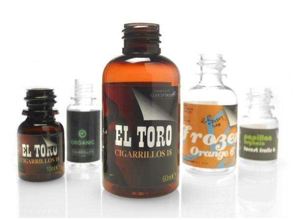 Electronic Cigarette Liquid Labels