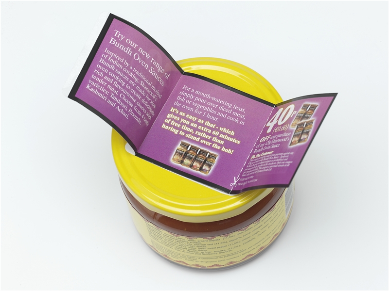 Peel and Reveal and Mutli Layer Food Labels