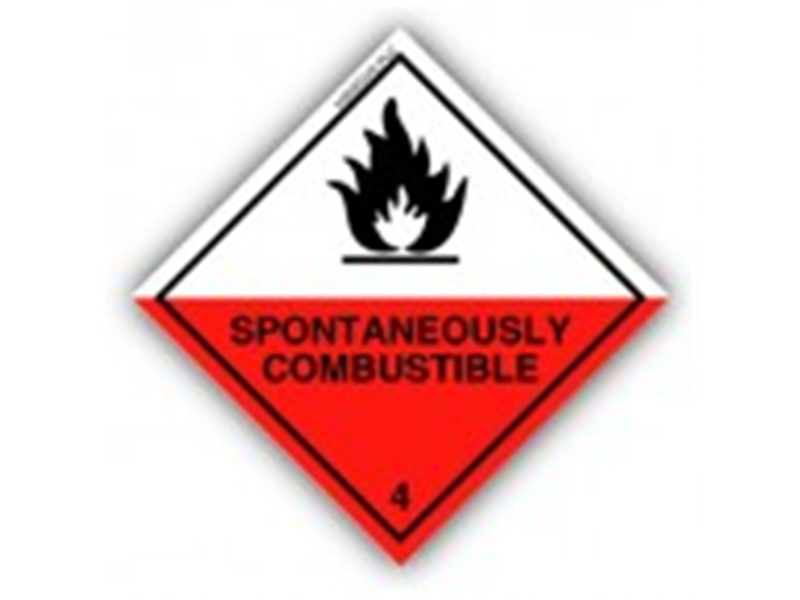 Spontaneously Combustible