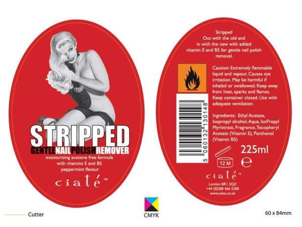 Reverse Printed Labels