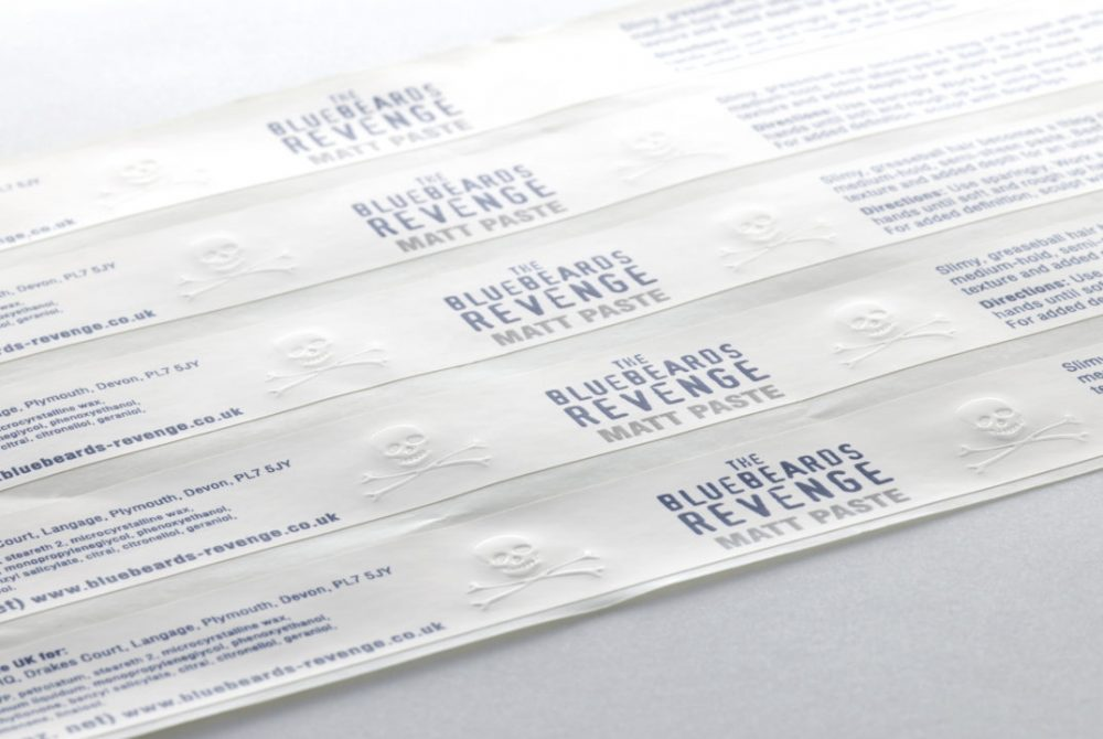 Embossed Labels