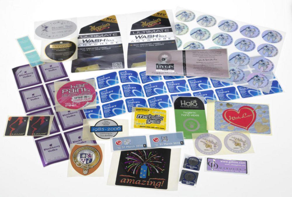 Foiled Labels