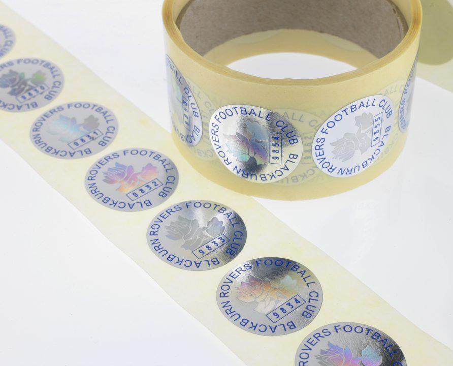Holographic BlackburnRoversStickers