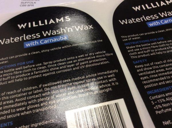 Textured Labels
